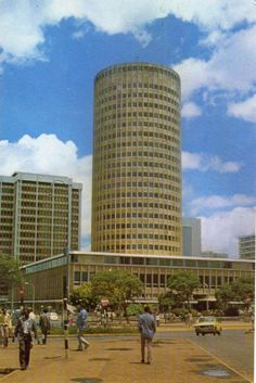 Nairobi Hilton, c1970. I remember seeing this hotel. We went on our 6-week safari in East Africa in 1969.