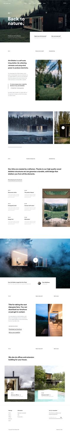 Nature page