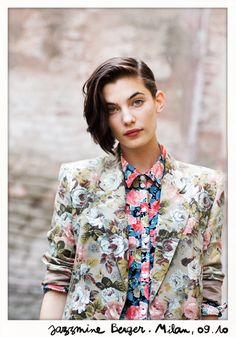 Next spring is going to be super floral - Jazzmine Berger on Garance Dore.