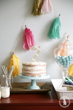 make your own cake topper - the handmade home