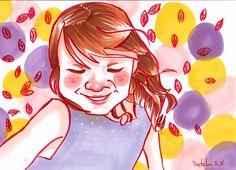 Otoño con marcadores #prismacolor #markers #autumn #happiness #illustration