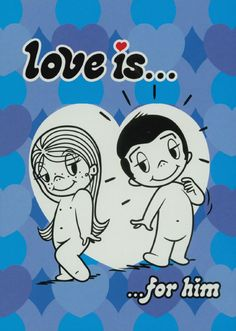 Warm and gently humorous wisdom on being in love for 'boys' of all ages from the legendary Love Is... cartoons