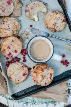 Flaky Red Currant + Chèvre Scones w/ Cardamom and Black Pepper | Baked-The Blog