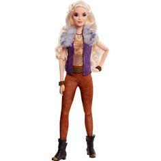 Zombie Disney, Zombie 2, Disney Dolls, Disney S, Girl Hair Colors, Suede Pants, Long Curls, Strike A Pose, Fur Collars