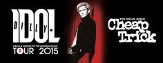 Shows Australia: Billy Idol with Cheap Trick | Australia 2015
