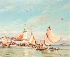 Willem van der Does Haven van Surabaya Dutch Colonial, Painting People, Malang, Surabaya, View Image, Worlds Largest, Van, Sport, History