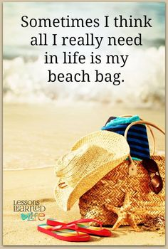 Sometimes all i needed in my life is a beach bag.
