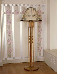 charles rennie mackintosh hill house standard lamp - Google Search