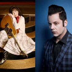 It's the news you've all been waiting for: the newest inductees to the Music City Walk of Fame are Loretta Lynn Official and Jack White! The two will be inducted at a ceremony at the new Walk of Fame Park in downtown Nashville on Thursday, June 4th, at 1pm/c. The event is free, open to the public, and calling your name! Come see the stars! ‪#‎MCWalkOfFame‬ #Nashville #MusicCity
