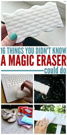 The magic eraser was named appropriately. There are hundreds of things you can do with the. Here are just a few tips and tricks that could save you time and money in the future!