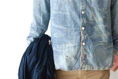 #menswear #rugged #jeans #denim #fashion