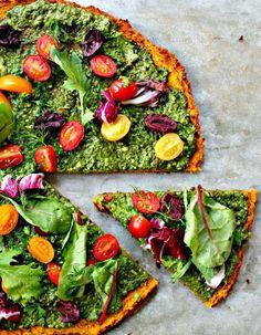 Pâte à pizza sans gluten : des idées de pâtes à pizza sans gluten et légères…