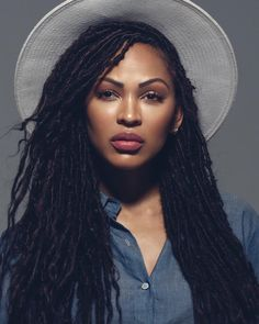 How to install natural looking faux locs faux locs locs and meagan good more pmusecretfo Gallery
