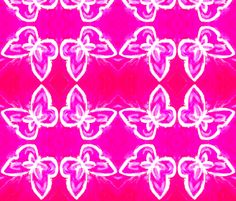 #Bold #Beautiful Butterfly #Sky Flock by SPKCreative #Fabric and #Wallpaper http://www.spoonflower.com/collections/78941 #butterflies #butterfly #decor #colorful #modern #magenta #hot pink #fuchsia #yellow #red #white