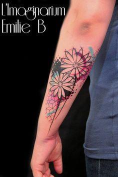Emilie Barbera mistura técnicas e estilos e dá vida à tatuagens…