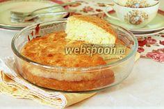 Фото Сметанный пирог с тёртыми яблоками
