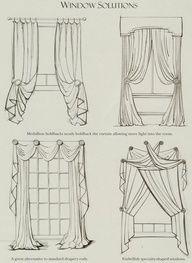 easy curtain ideas, ideas for interesting window treatments, how