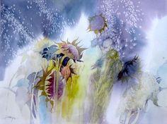 Artwork of Karen Ku - Sunflowers Past