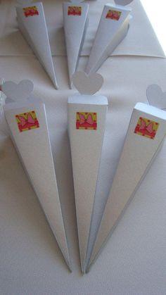 Souvenir - bolsitas para golosinas Orygami