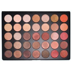 Morphe 35OS Color Shimmer Nature Glow Eyeshadow Palette | Camera Ready Cosmetics