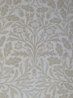 William Morris Fan Club: Morris wallpaper in real life....