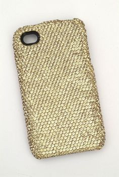 Deos Swarovski Crystal Bling Iphone 4 Case, Colorado Topaz