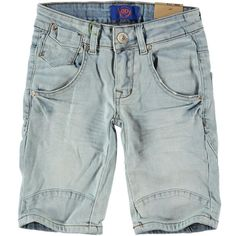 Dutch Dream Denim jeansshort BOY  | Olliewood