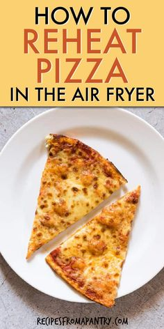 Learn how to reheat pizza in air fryer & enjoy perfectly reheated pizza every time! This method works for both basket style air fryer & air fryer oven. Air Fryer Oven Recipes, Air Frier Recipes, Air Fryer Dinner Recipes, Leftover Pizza, Air Fried Food, Air Fryer Healthy, Fusion Food, Air Frying, Cooking Recipes