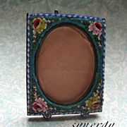 Italian Micro-Mosaic Miniature Picture Frame