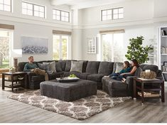 Steinhafels offers the largest selection of furniture and mattresses in Wisconsin and northern Illinois. Shop online or visit one of our stores for great prices on all home furnishing and mattress needs! Rustic Living Room Furniture, Living Room Decor, Vernon, Piano, Ottoman, Deep Seat Cushions, Living Room Sectional, Front Rooms, Decorate Your Room