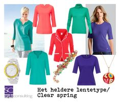 """Het heldere lentetype/ clear spring color type."" By Margriet Roorda-Faber, Style Consulting."