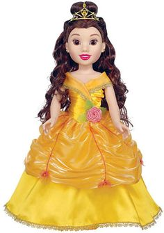 #ToysRus                  #Toys #Dolls              #belle #dreams #pretty #friend #beast #adventures #intelligent #fans #beauty #doll #princess #special #disney #inch               Disney Princess & Me 18 inch Doll - Belle           Disney Beauty and the Beast fans will love our Disney Princess and Me 18 inch Doll  Belle! Pretty and intelligent Belle loves to read and dreams of adventures, but most of all, she loves having a special friend like you. Whether you're dressing up for a r…