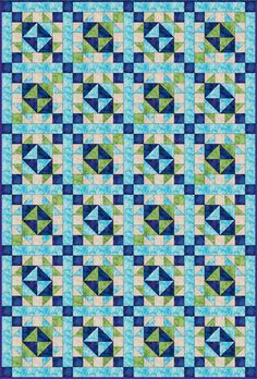 How to Make One Version of the Traditional Broken Dishes Quilt Block: Broken Dishes Quilt with Sashing -- -- -- I haven;t seen this called broken dishes before, but it's simple to construct with half square triangles. Beginner Quilt Patterns, Quilt Patterns Free, Quilt Tutorials, Pattern Blocks, Free Pattern, Sampler Quilts, Lap Quilts, Patch Quilt, Quilt Blocks