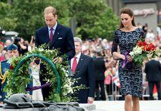 Kate Middleton Photos - Prince William and Kate Middleton at the National War Memorial - Zimbio