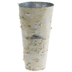 Birch Covered Zinc Vase 9in and other cheap bark vases