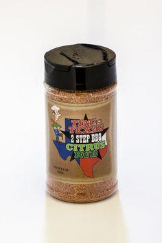 Tim's Texas 2 Step BBQ Citrus Rub for $8.99 #onselz