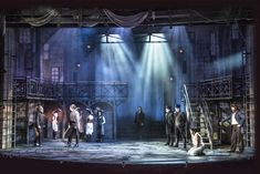 Les Miserables. Maltz Jupiter Theatre. Scenic design by Paul Tate dePoo III. 2015