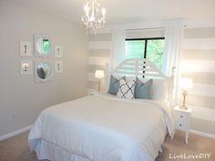 Pretty room! So crisp!