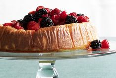 There's a reason all of Italy loves this summery dessert: Rich, airy and smothered in berries, it's also easy to prepare.