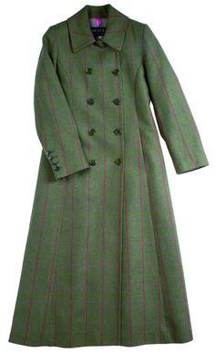 Dreaming of a long Harris Tweed coat...