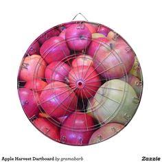 Apple Harvest Dartboard