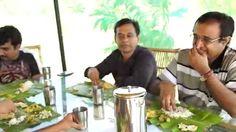Sridhar and family enjoying get together at Chukki Mane - food, campfire, waterfalls, Talakadu, nature, village tour