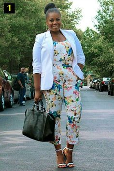 white floral jumpsuits - Google Search