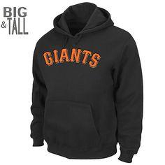 San Francisco Giants BIG & TALL .300 Hitter Hooded Sweatshirt by Majestic Athletic Big & Tall - MLB.com Shop