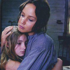 katniss + prim #hunger #games #movie