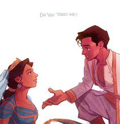 Arte Disney, Disney Fan Art, Disney Magic, Disney And Dreamworks, Disney Pixar, Comic Collage, Princesa Jasmine, Aladdin Movie, Disney Renaissance