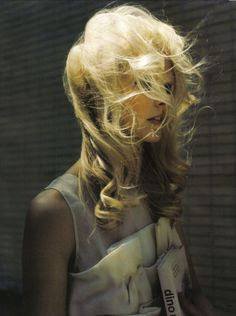 """Ingerid Maske in """"Galleria Borgese"""" by Louis Sanchis for Elle Italy, November 2008"""