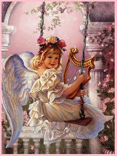 Little girl angel..... so sweet!!