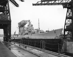 File:USS Baltimore (CA-68) reactivation.jpg