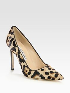 leopard manolos